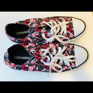 Limited Edition Floral Converse Sneakers